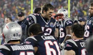 Brady talking